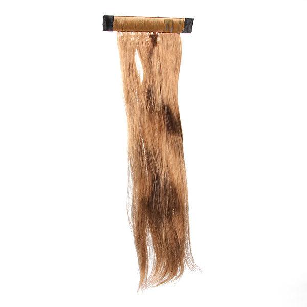 Волосы накладные ″Хвост прямой″ русая 48см 517-2 купить оптом и в розницу