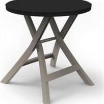 Стол Oregon Curver антрацит  70*70*72(BISTRO TABLE) купить оптом и в розницу
