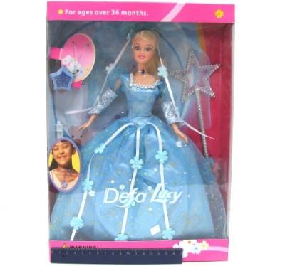 Кукла 20947 с медальоном Defa Lusy в кор. купить оптом и в розницу