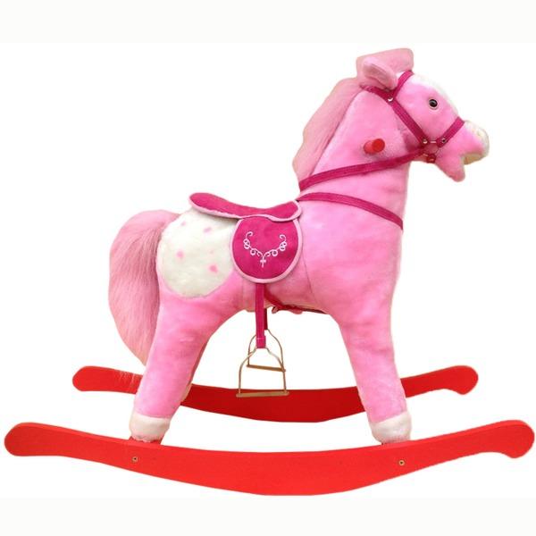 Качалка Лошадка розовая 11-5 купить оптом и в розницу