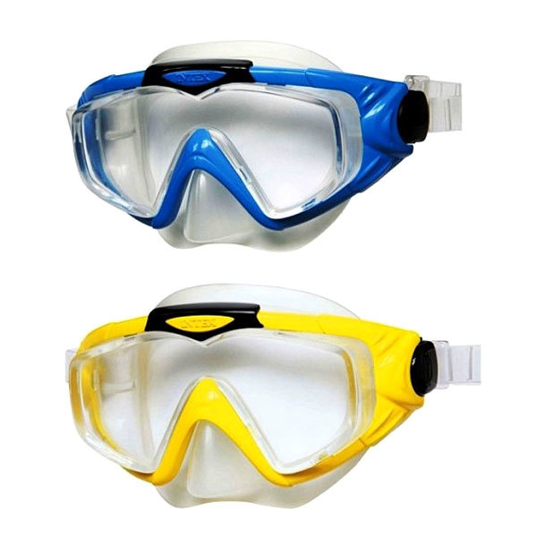 Маска для плавания взрослая Silicone Aqua Pro Intex (55981) купить оптом и в розницу
