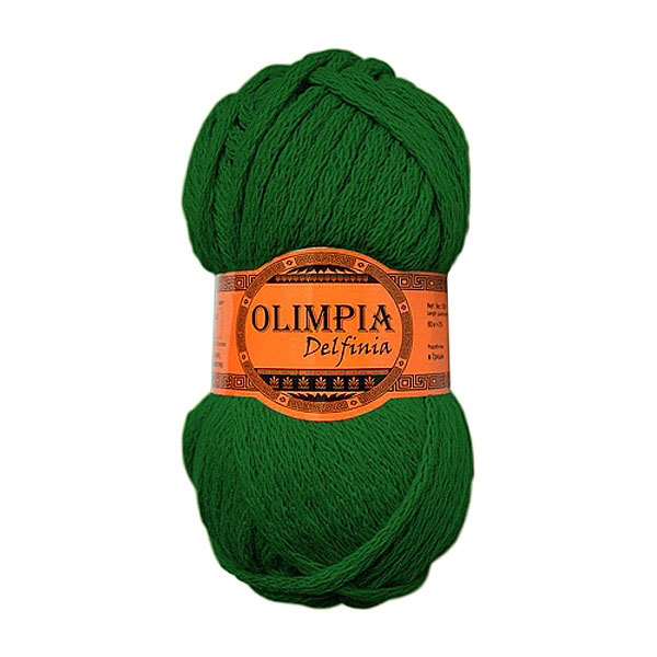 Пряжа для вязания Olimpia Delfinia цв.DL04 олива 500г 5шт купить оптом и в розницу