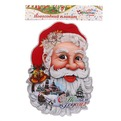 Серпантин Плакат новогодний Дед Мороз 30х23 310-4 (1/200) купить оптом и в розницу