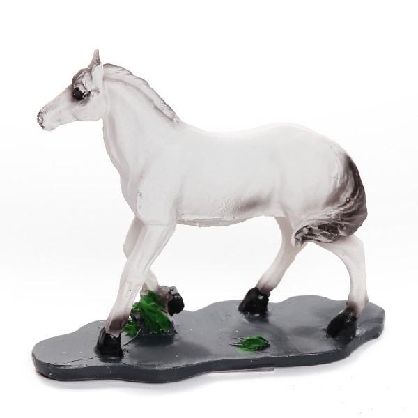 Фигурка ″Страж года″ Конь белый 10*12см 107 купить оптом и в розницу