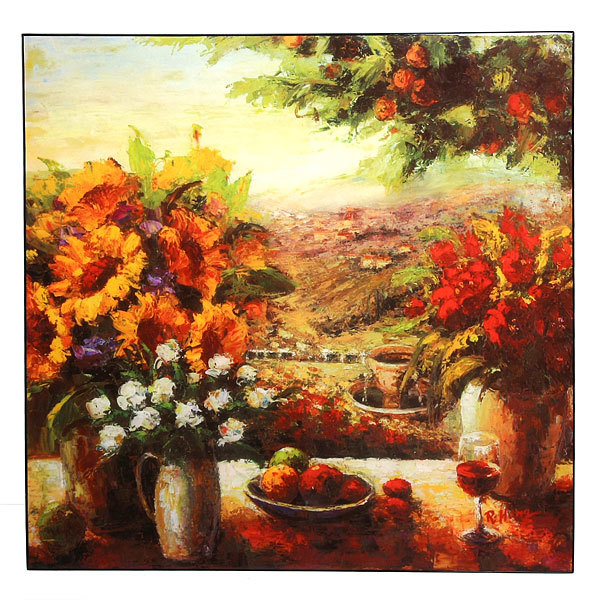 Картина пластик ″Цветы в вазе″ купить оптом и в розницу