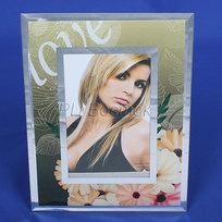 Фоторамка из стекла цветная 10х15 см 8-132 купить оптом и в розницу