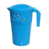 Кувшин пластиковый 1,2л ″Цветы″ 0508 купить оптом и в розницу