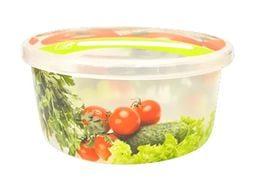 """Комплект емкостей для продуктов """"Браво"""" Овощи круглых 0,5 л + 0,75 л  *27 купить оптом и в розницу"""