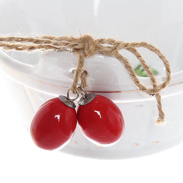 Салатник фарфоровый ″Овощи″ 7*13см кадушка купить оптом и в розницу