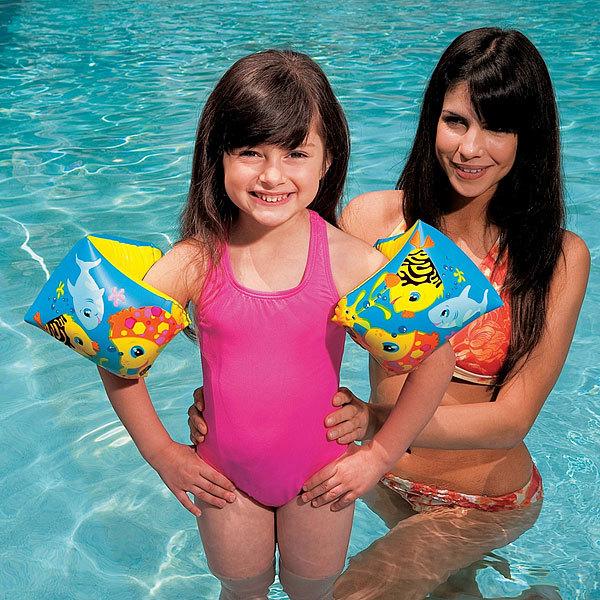 Нарукавники детские 23*15 см от 3-6 лет Tropical Buddies Intex (58652) купить оптом и в розницу