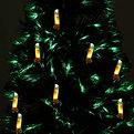Елка светодиодная 150 см оптоволокно + 30 свечей купить оптом и в розницу