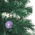 Елка светодиодная 150 см оптоволокно + 16 звезд + 16 шаров купить оптом и в розницу