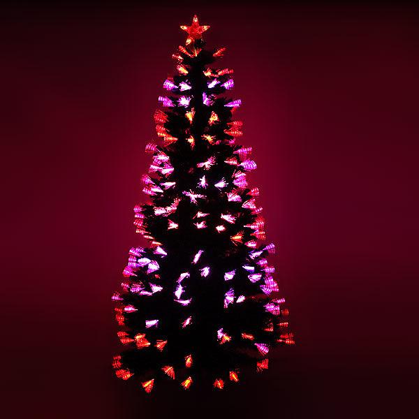 Елка светодиодная пучки 180 см оптоволокно + 240 пучков купить оптом и в розницу
