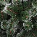Елка искусственная 150 см комбинированная звездная пыль 711 ветки купить оптом и в розницу