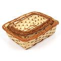 Корзинка плетёная в наборе 4 шт купить оптом и в розницу
