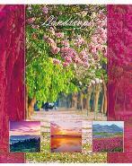 """Тетрадь 48л.кл.скрепка HATBER, """"Прекрасные пейзажи"""" тиснение купить оптом и в розницу"""