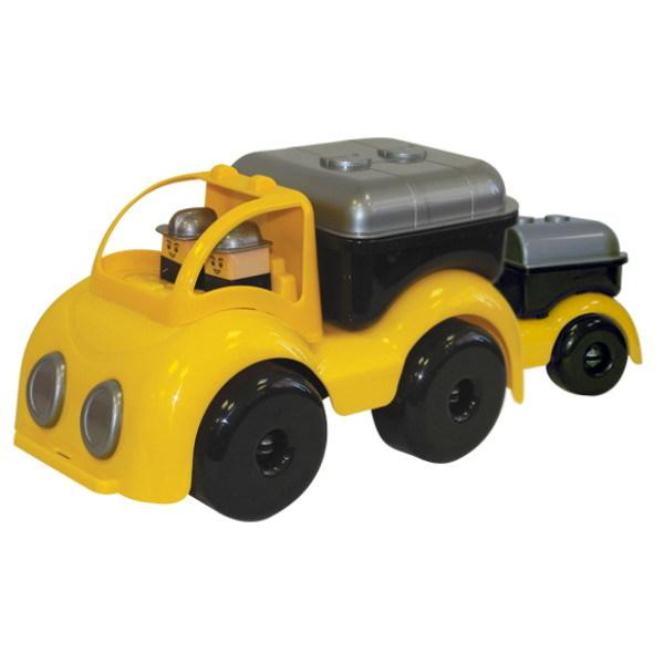 Автомобиль цистерна строительная Крепыш с прицепом 31130 /Плэйдорадо/6/ купить оптом и в розницу