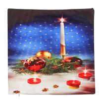 Наволочка декоративная 40*40см ″Рождественская свеча″ купить оптом и в розницу