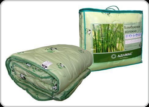 Одеяло 110х140 обл. бамбук/тик Адамас купить оптом и в розницу