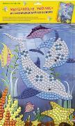 """Набор д/дет.творч.Мозаика """"Дельфины"""" самоклеящ. мерцающая купить оптом и в розницу"""