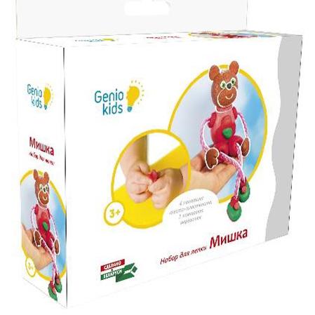 Набор ДТ Тесто для лепки Мишка ТА1076 /Genio Kids купить оптом и в розницу
