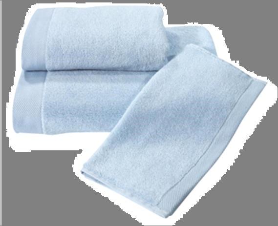 Полотенце 70х130 Spany interio Oleandr цв.голубой купить оптом и в розницу