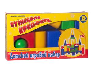 Набор Кузнецкая крепость 15 элементов /Новокузнецк/ купить оптом и в розницу
