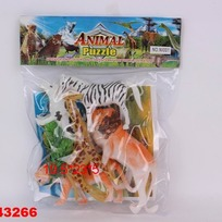 Набор животных 001NI в пак. купить оптом и в розницу