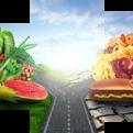 Картина модульная триптих 55*96 Еда диз.7 23-01 купить оптом и в розницу