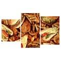 Картина модульная триптих 55*96 см, бургеры купить оптом и в розницу