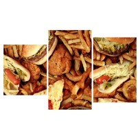 Картина модульная триптих 55*96 Еда диз.9 26-01 купить оптом и в розницу