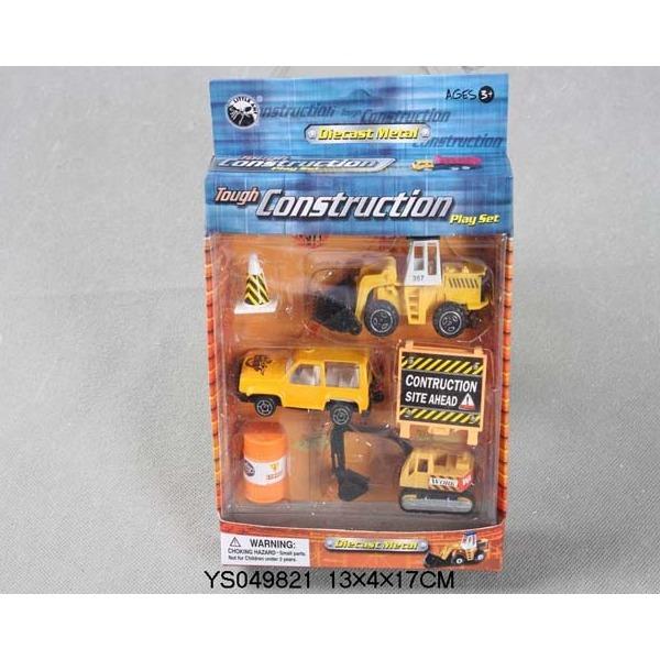 Набор машин металл 11233-ВА Стройка LITTLE ANT купить оптом и в розницу