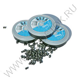 Пуля пневматическая Бета, 4,5 мм, 0,52 гр (300 шт) купить оптом и в розницу