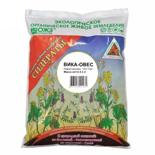 Семена Овес-Вика (семен)300 гр. Зеленое удобрение купить оптом и в розницу