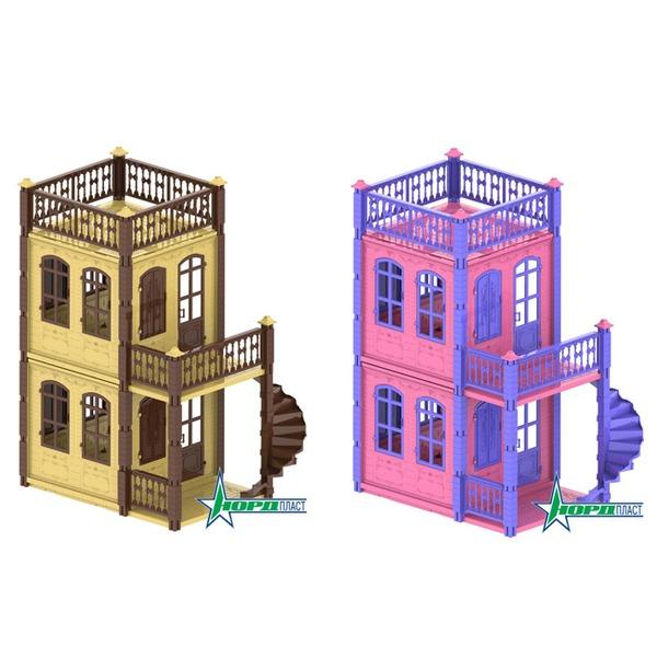 Дом 591/1-2 Замок Принцессы 2 эт., в ассорт. Норд /2/ купить оптом и в розницу