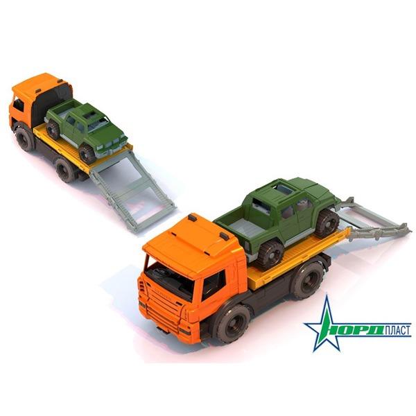 Автомобиль Спецтехника эвакуатор с машиной 205 Норд /8/ купить оптом и в розницу