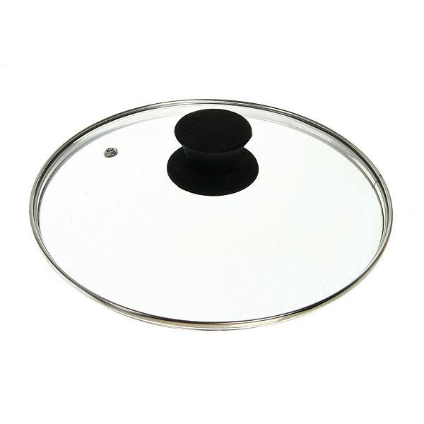 Крышка стеклянная 22 см Silk с пароотводом купить оптом и в розницу