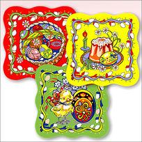 Салфетка на стол 31*31см Пасха 3 дизайна купить оптом и в розницу