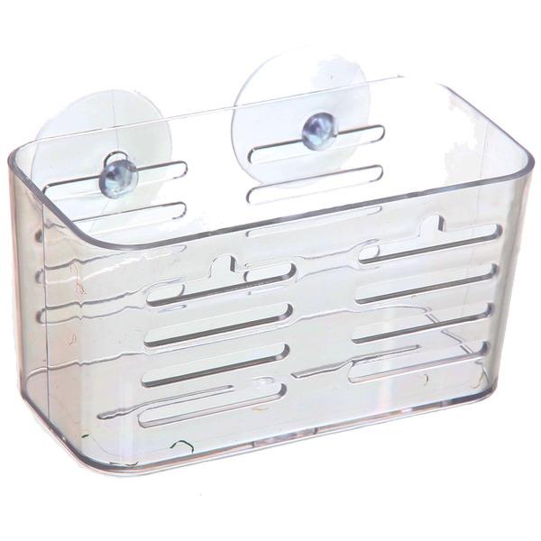 Полка для ванны на присосках 16х8х8.5 см 2256W купить оптом и в розницу