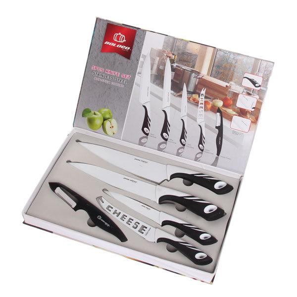 Набор ножей 4шт+овощечистка в подарочной упаковке U3BP-H510 купить оптом и в розницу