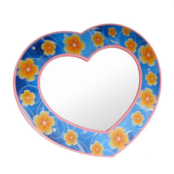 Зеркало настольное детское ″Сердечко″ галографическое купить оптом и в розницу