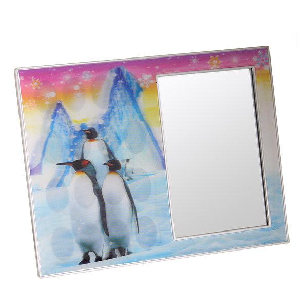Зеркало настольное в пластиковой оправе галографическое ″Ассотри″ 23*18 988-2 купить оптом и в розницу