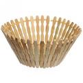 Корзинка бамбуковая -19 см купить оптом и в розницу