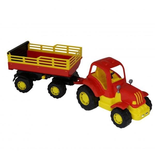 Трактор Силач с прицепом №2 44969 П-Е /4/ купить оптом и в розницу