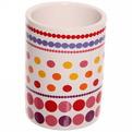 Набор для ванной из 4-х предметов керамический, цветные шарики купить оптом и в розницу