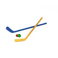 Набор Юный хоккеист 268 Норд /16/ клюшка 2шт, шайба купить оптом и в розницу