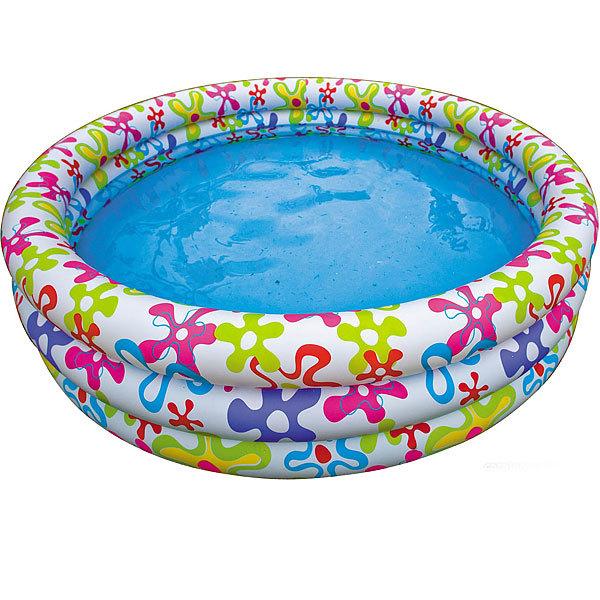 Бассейн надувной 168*38 см Realistic Starfish Intex (56440) купить оптом и в розницу