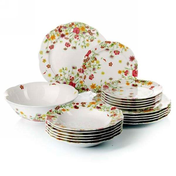 Набор столовой посуды 19 предметов ″Мидоу″ купить оптом и в розницу