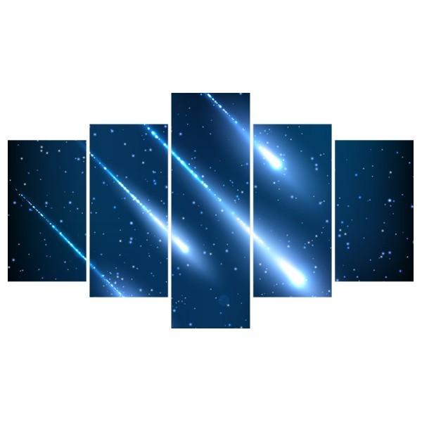 Картина модульная полиптих 75*130 Космос диз.7 80-02 купить оптом и в розницу