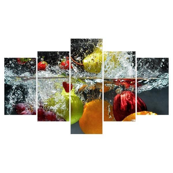 Картина модульная полиптих 75*130 Еда диз.32 83-02 купить оптом и в розницу